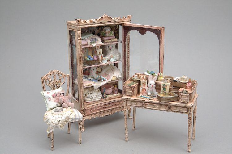 Shabby Chic Miniatures On Pinterest Dollhouse Miniatures