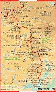 サン・ギエムの道 Chemin de Saint-Guilhem