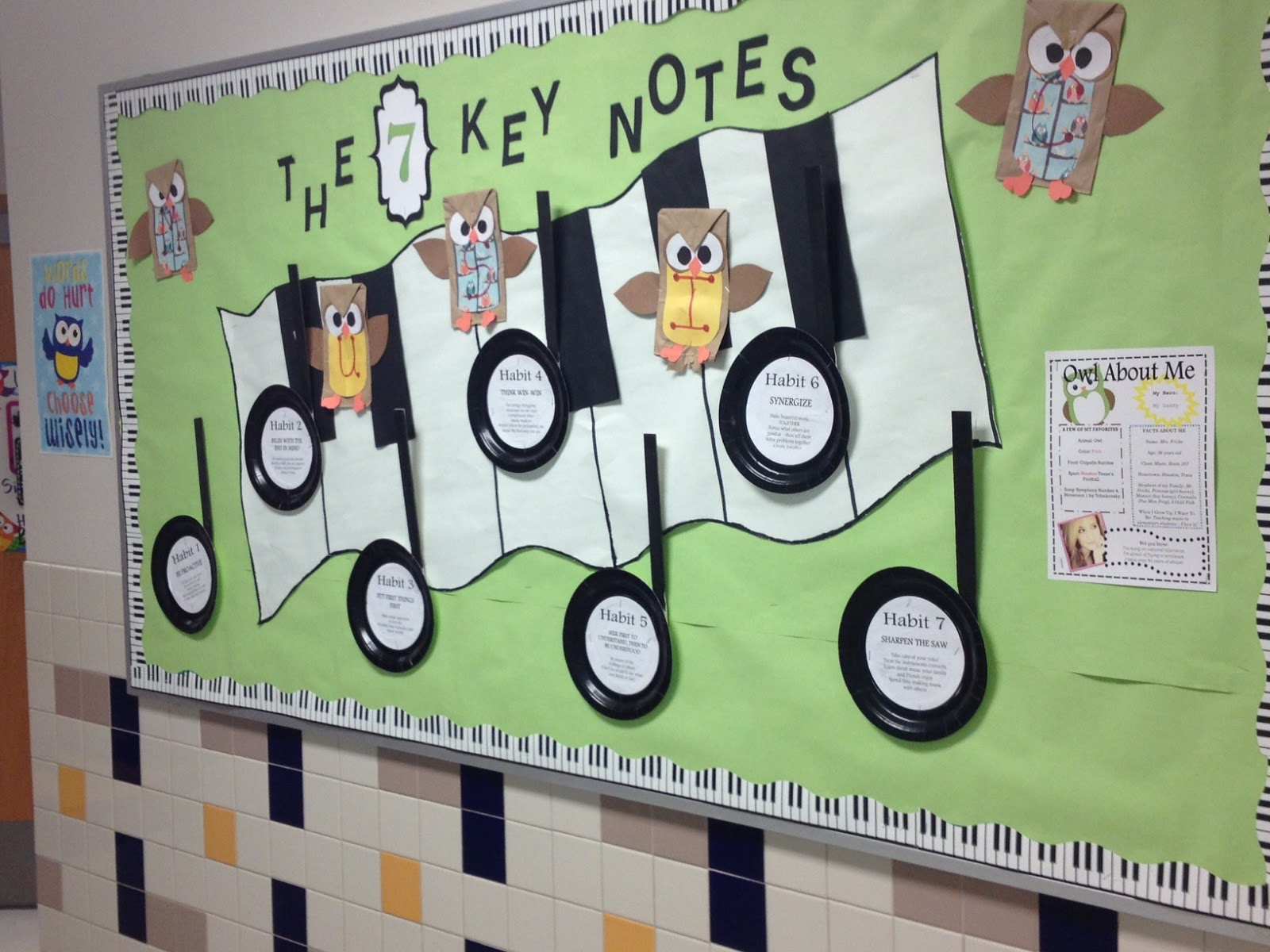 Music Themed Classroom Decorations ~ The sweetest melody owl land returns