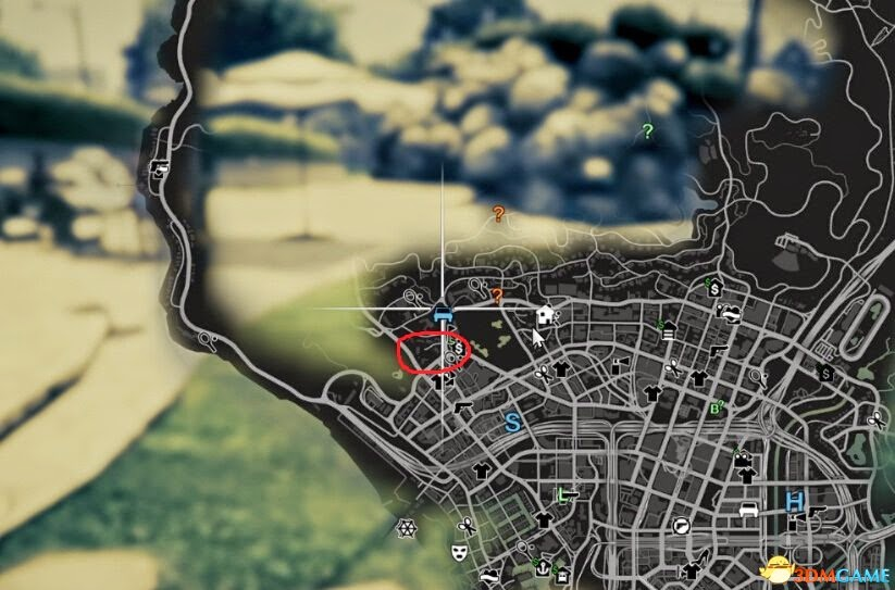 GTAV PC俠盜獵車手5 online 裸體女人福利地圖位置