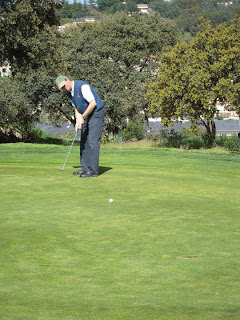 Green paddock golf