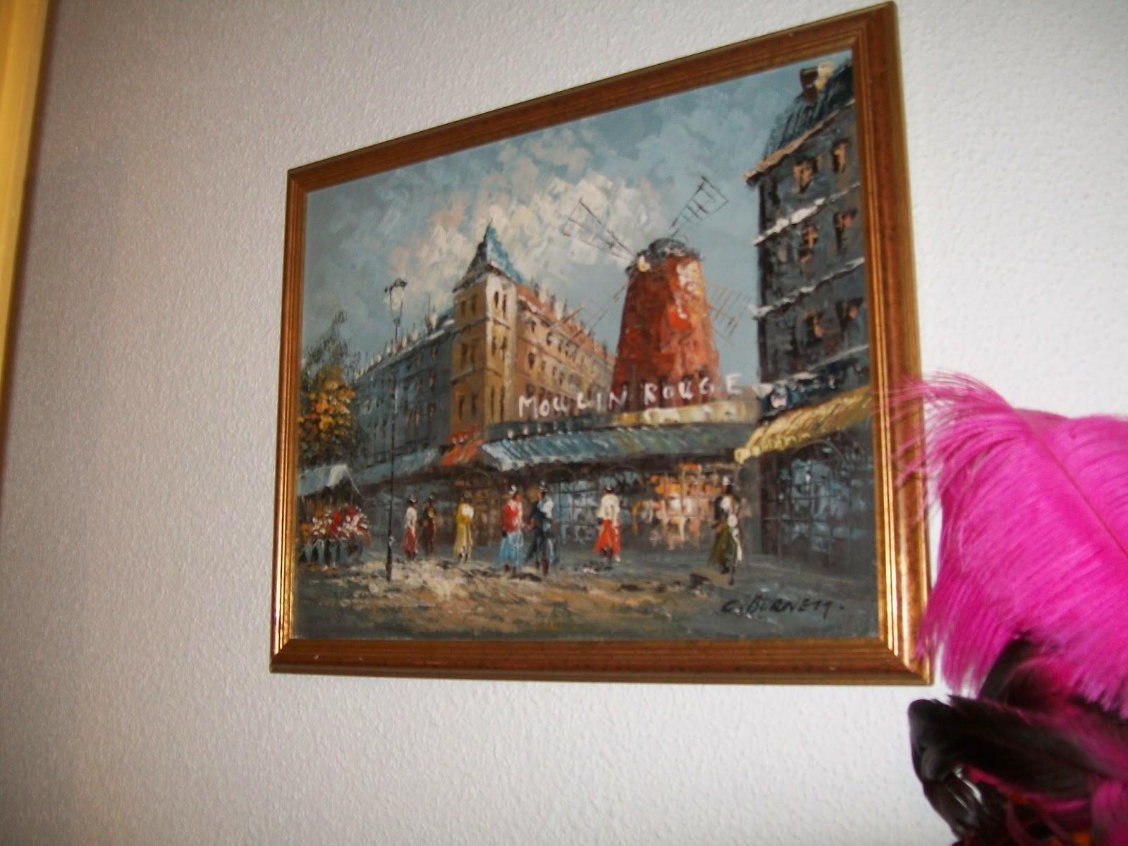 Calogilou le champi tableaux peintures hst moulin - Peintre burnett estimation ...