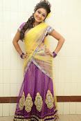 Priyanka half saree photos-thumbnail-2
