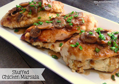 The bestest recipes online stuffed chicken marsala for Olive garden stuffed chicken marsala