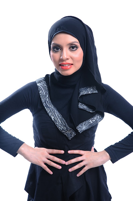 Model Adibah Karimah photoshoot by photographer Hafiz Atan