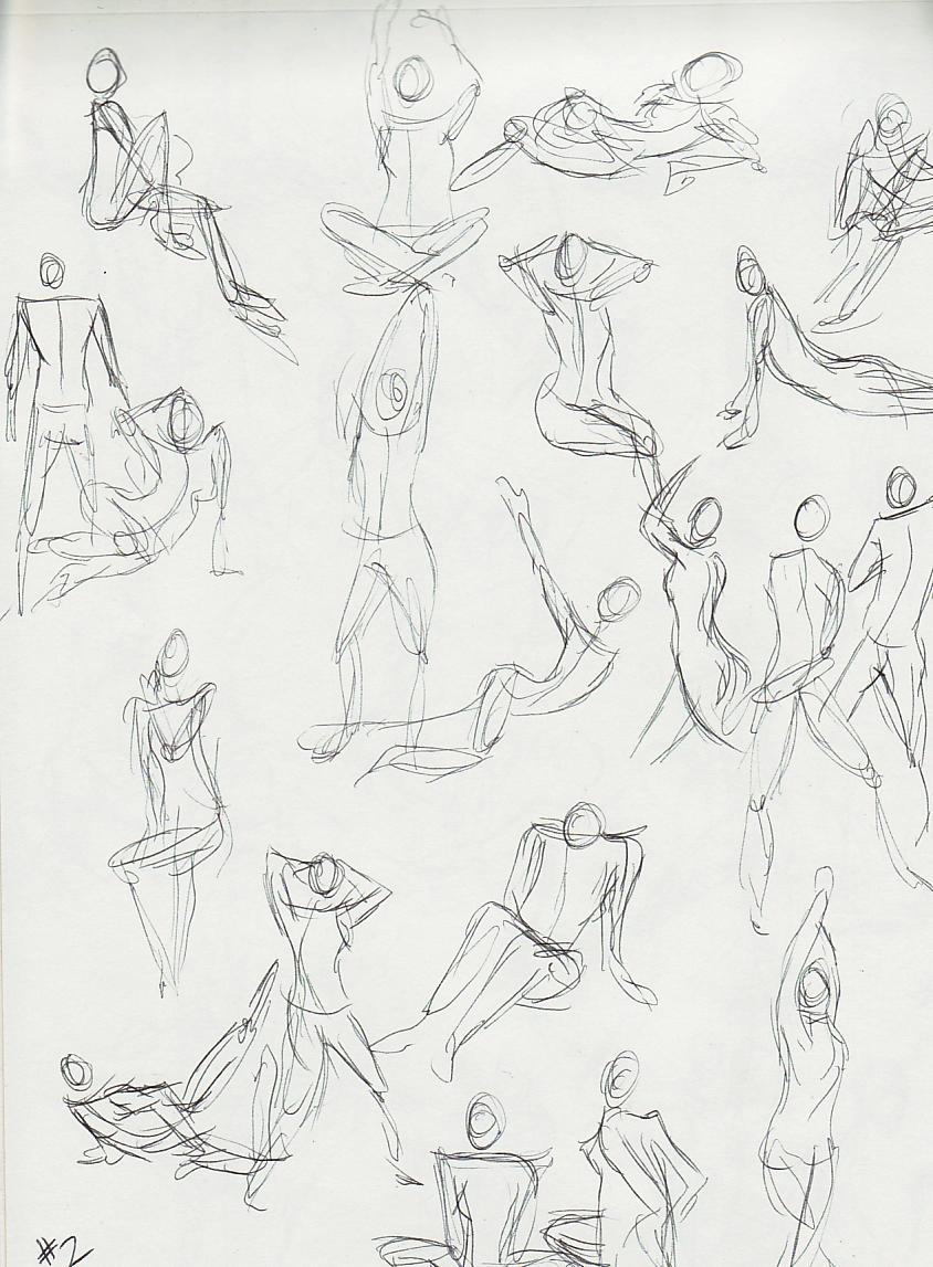 Mental Pencil: Figure Drawing Practice