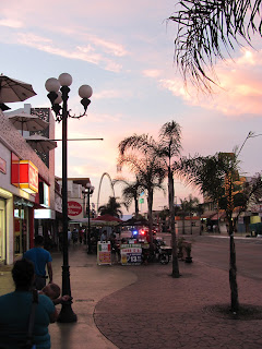 Sunset on Avenida Revolucion - Tijuana