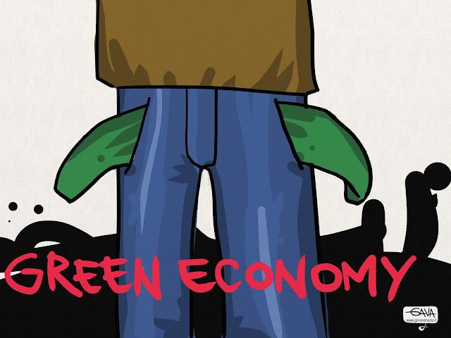 tasche essere al verde Gava Satira Vignette