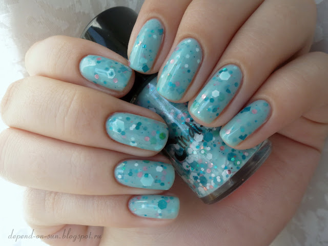 Jindie nails Snow angels