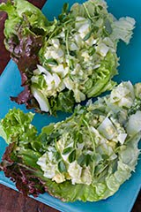 Acocado + Egg Salad Lettuce Boats (Repost)
