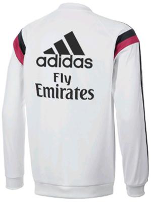 Sweat Grade Original Real Madrid Top White 2014 - 2015