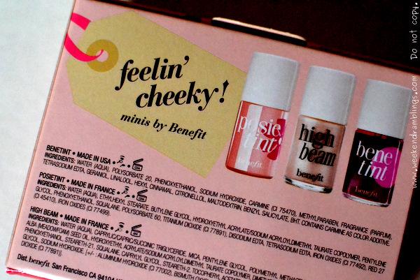 Benefit Cosmetics Benetint Lip Cheek Stain Reviews Swatches Makeup Looks FOTD