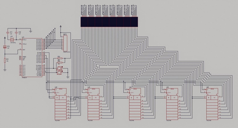 Imam Tech Innovation Mikrokontroller Merakit Dot Com Transmitters Pada Kali Ini Bagi Yang Ingin Membuat Matrix Dengan Ukuran 7x40 Bisa Membuatnya Tentu Bahan Telah Tersedia