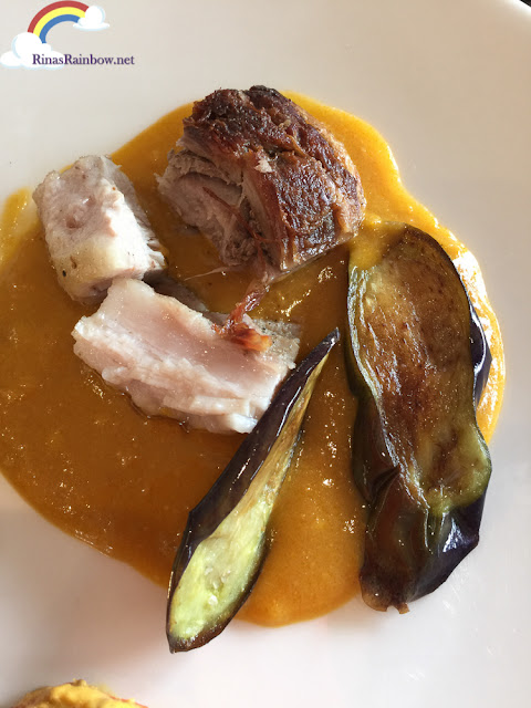 Deconstructed Kare-kare