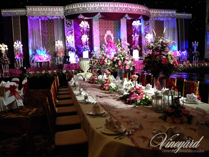 Vineyard event floral decoration surabaya january 2012 junglespirit Gallery