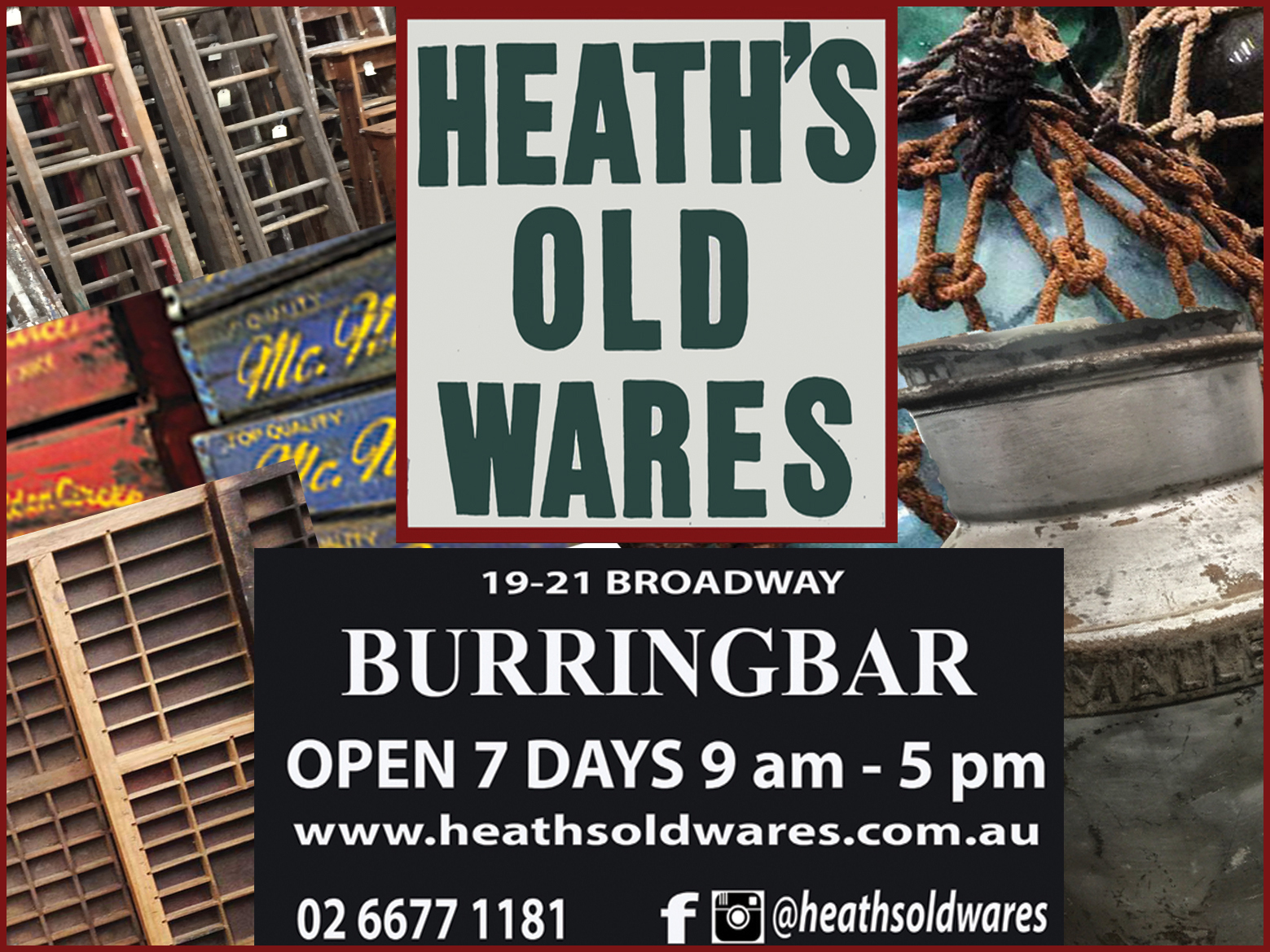Heaths Old Wares and Collectables Burringbar