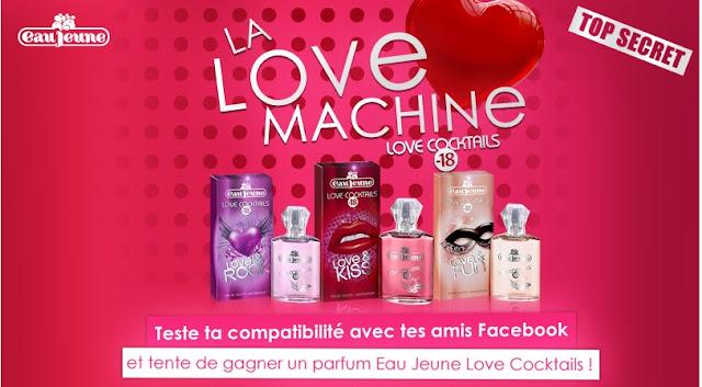45 parfums Eau Jeune Love Cocktail Love