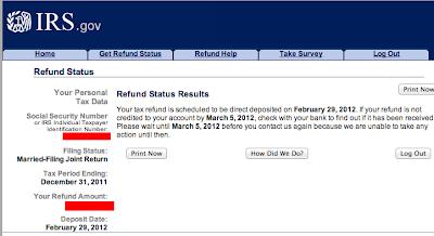 Tax Refund: Tax Refund Paper Filing