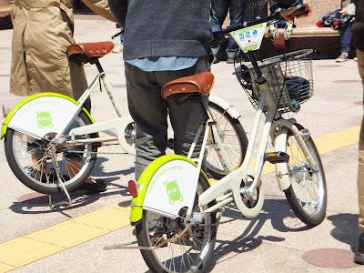 Machinori bicycles in Kanazawa City