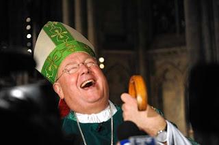 Laughing cardinal