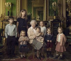 The Queen's birthday portraits by Annie Liebovitz