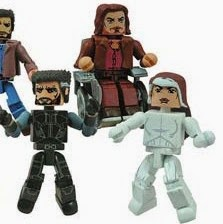 X-Men Days of Future Past Marvel Movie Minimates Series 58 - Future Rogue
