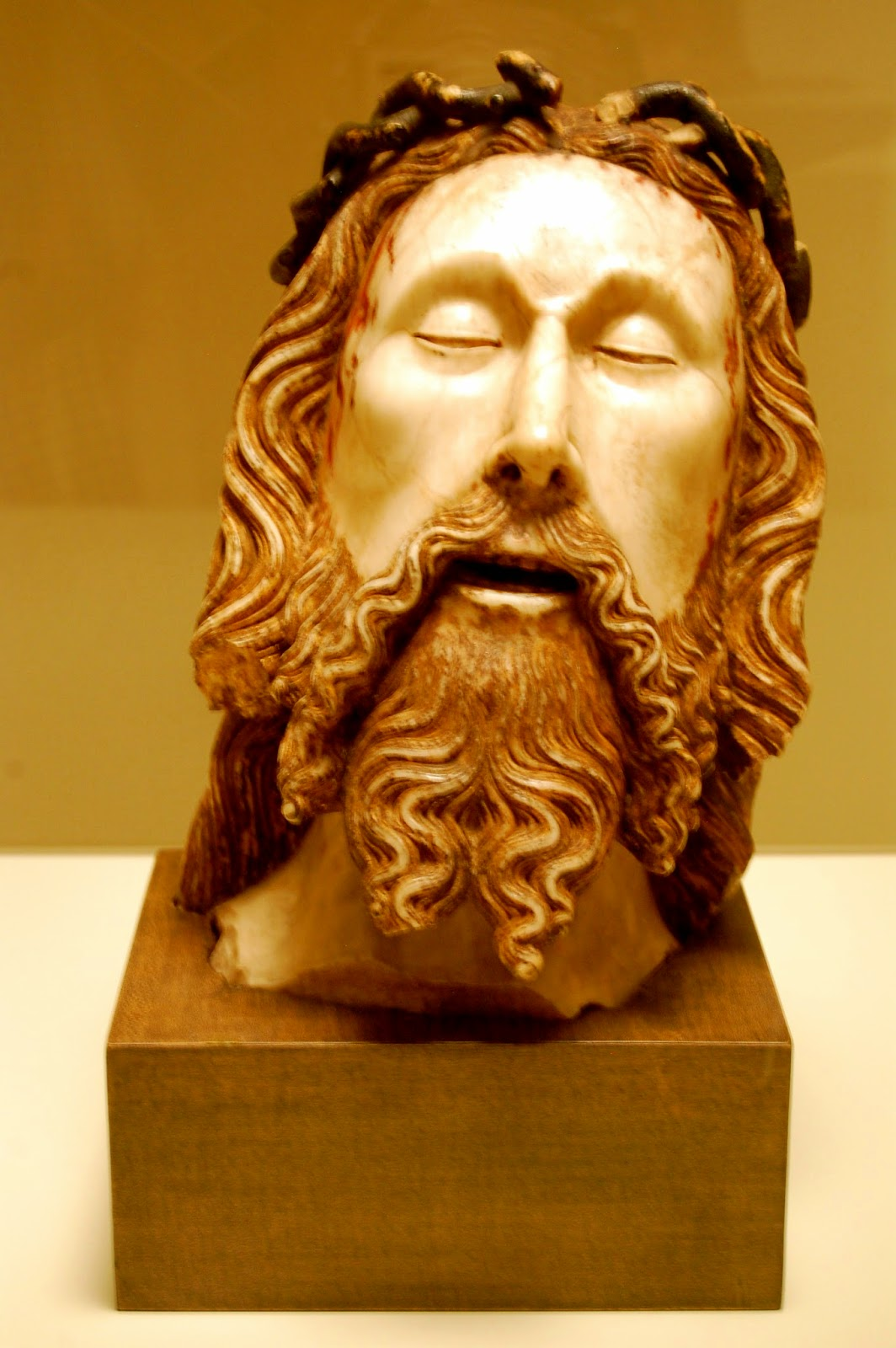 Head of Christ, by Jaume Cascalls