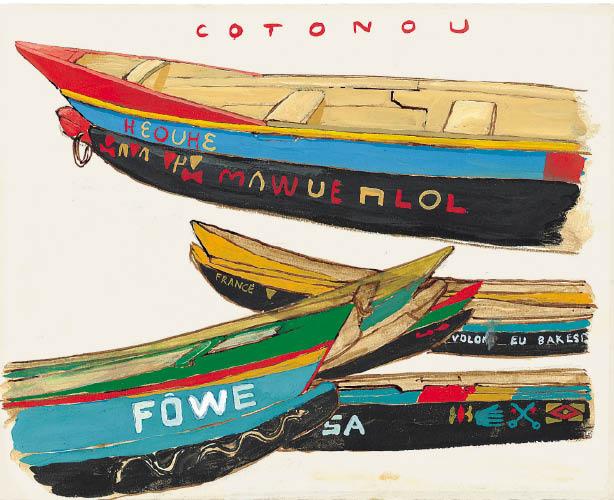 Titouan Lamazou - bateaux