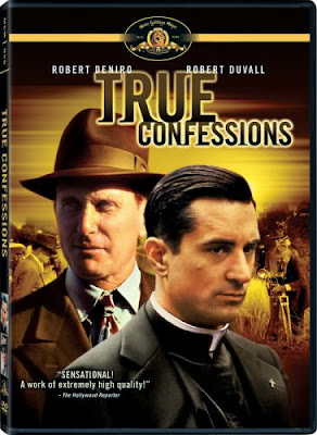 Robert Duvall and Robert DeNiro on True Confessions DVD cover