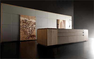 Мебельный гарнитур с инкрустацией. Модель Progetto50 от фабрики Toncelli.