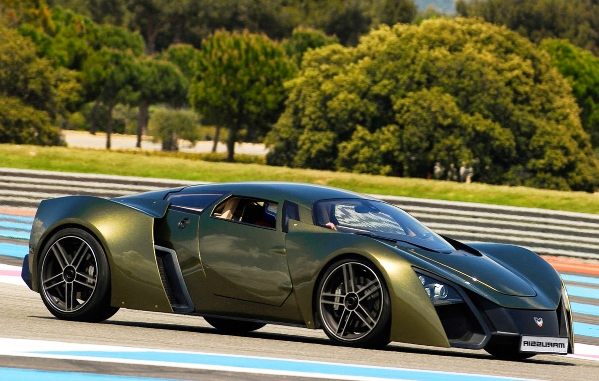 Marussia B2 Supercar Specification Side