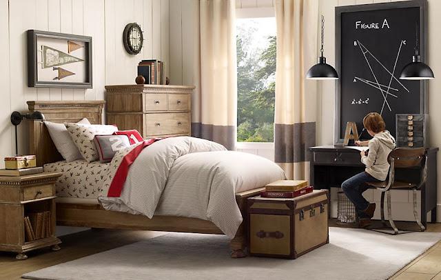Dormitorios juveniles para varones estilo industrial for Habitacion decoracion industrial