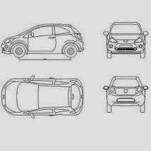 Bloc-Autocad-vehicules