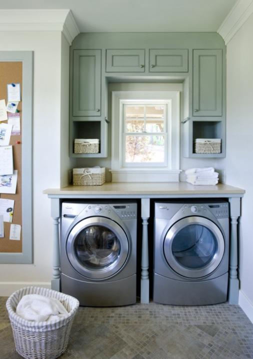Design dilema c mo ocultar disimular una lavadora for Cocina y lavanderia juntas