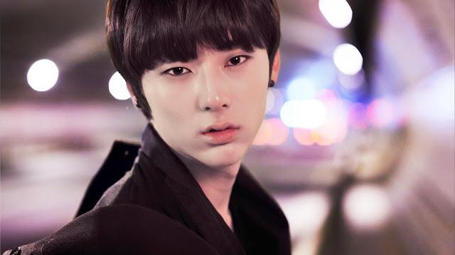 Baekho, siaran, NU'EST, Aron, dan, gambar, teaser, Minhyun, untuk, 2, mini-album, Artis Korea, KPOP, Hiburan, Korea