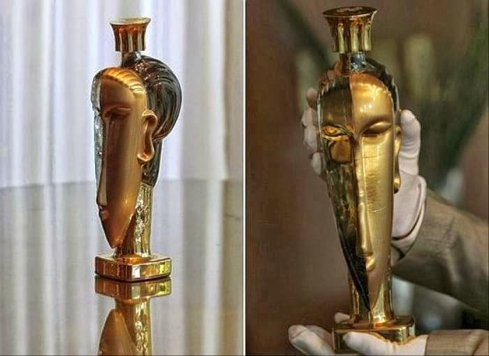 acqua di cristallo oro puro solido mas caro del mundo