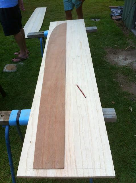 building an alaia