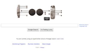 Googles Virtual Guitar Doodle gets home on Googles Logo store  technology internet google