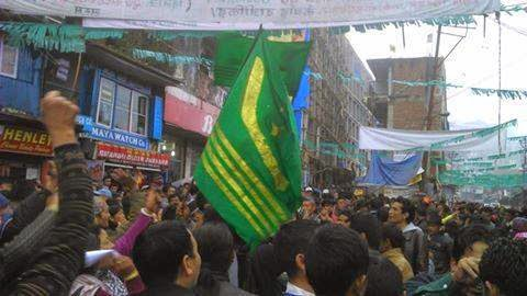GNLF adamant on sixth schedule for hills, holds public meeting in Darjeeling