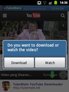 Download Video Youtube di Android 3