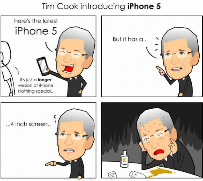 Tim Cook Introducing iPhone 5