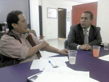 REUNIÓN EN LAS OFICINAS DE ALAMPYME