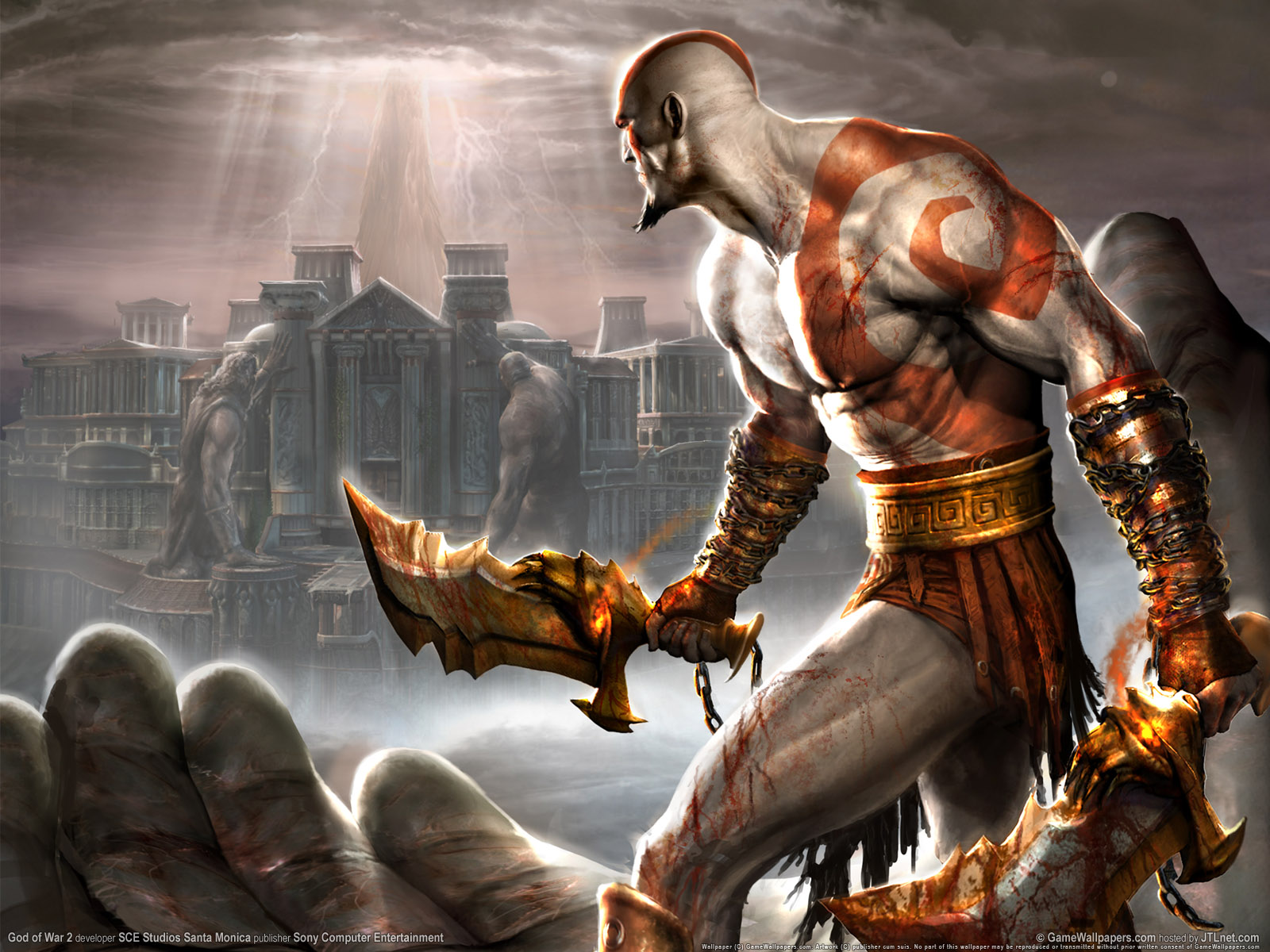 Wallpapers de mitologia y dioses taringa for God of war 3 jardines superiores