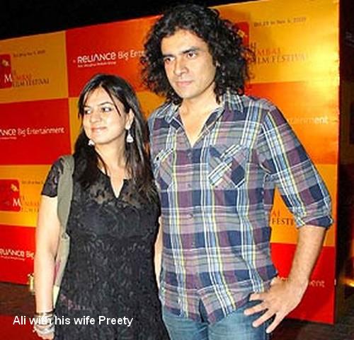 Tnz Paparazzi For U Iman Ali Magic Bollywood Director Imtiaz Divorced His Wife Preety