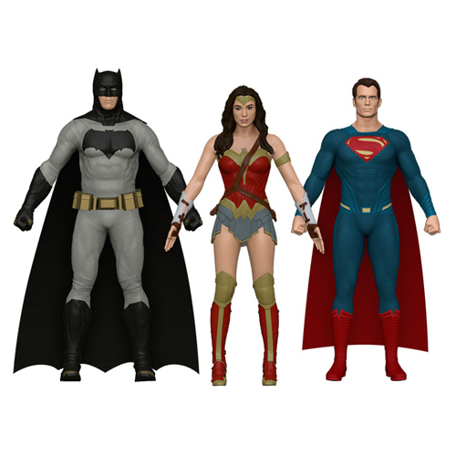 """BATMAN V SUPERMAN: DAWN OF JUSTICE"" ACTION FIGURES"