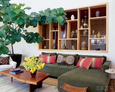 Plants Decoration Ideas, افكار الديكور لتزين المنزل بالنباتات الخضراء
