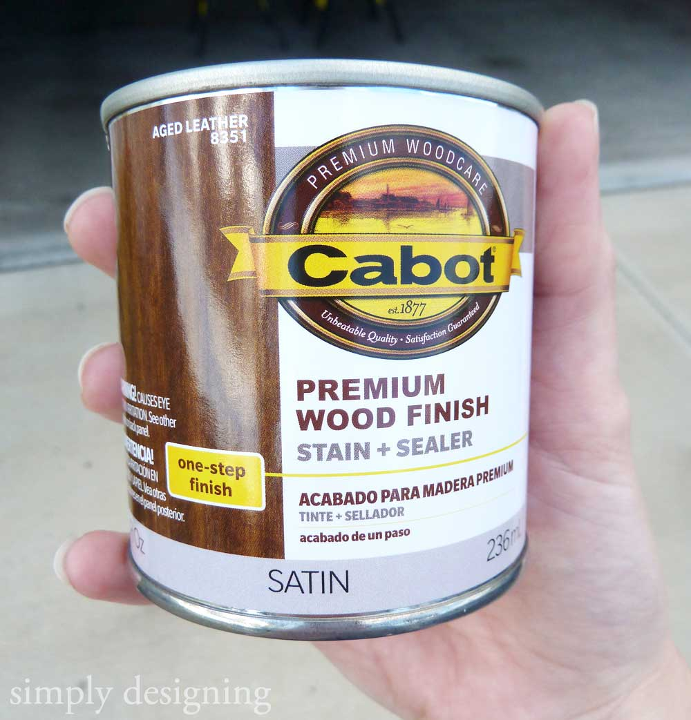Fall Pumpkin Board (using @CabotStain U0027s New Premium Wood Finish Product!)
