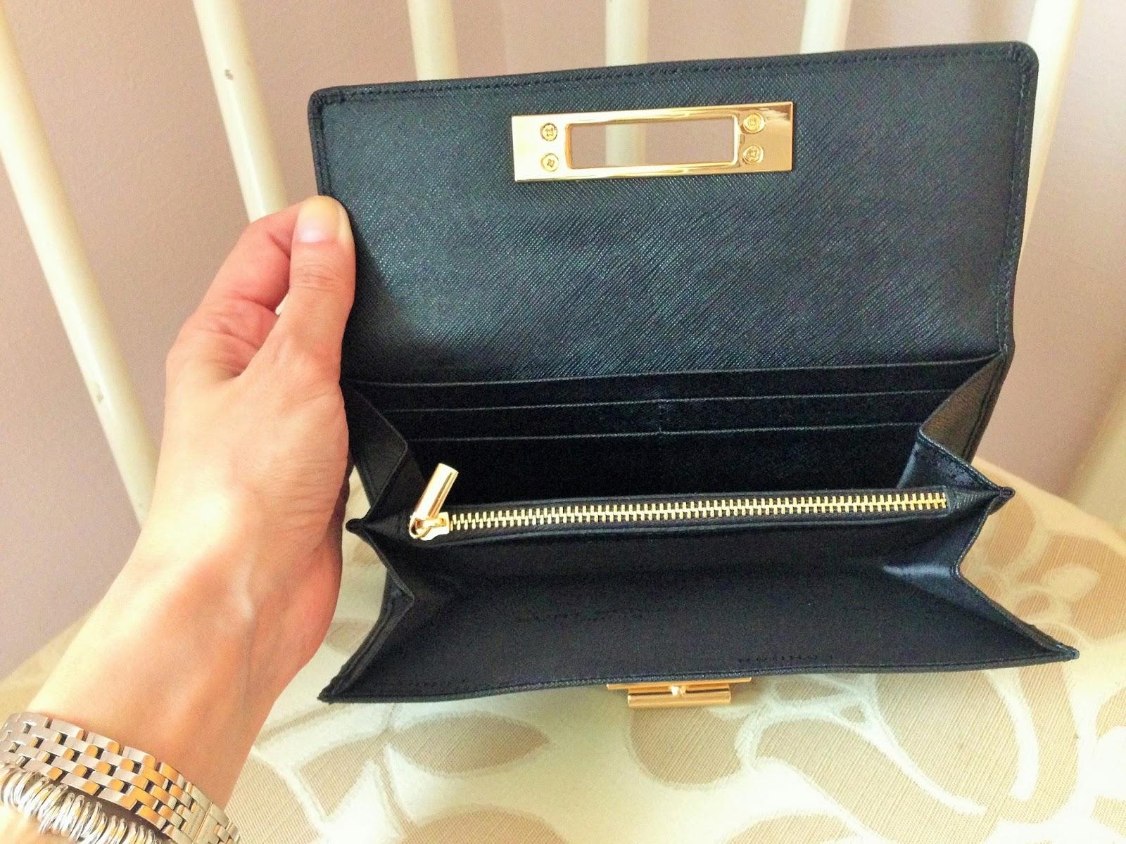 Black Kurt Geiger Wallet