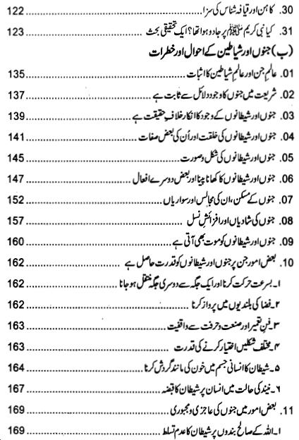 Index page 3 of Jadu ki Haqeeqat
