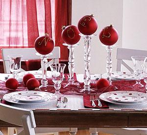 Wedding Decorations, Red Centerpieces and Arrangements 1